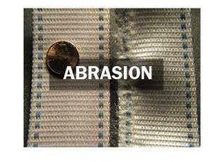BioThane Belt Features Abrasion