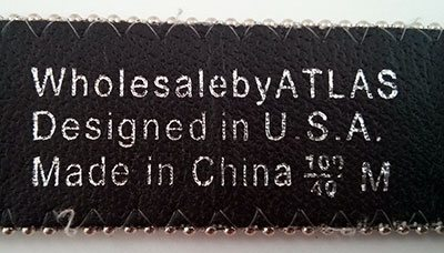 BioThane Super Belt Hall of Shame Rodeo Queen - Made in China
