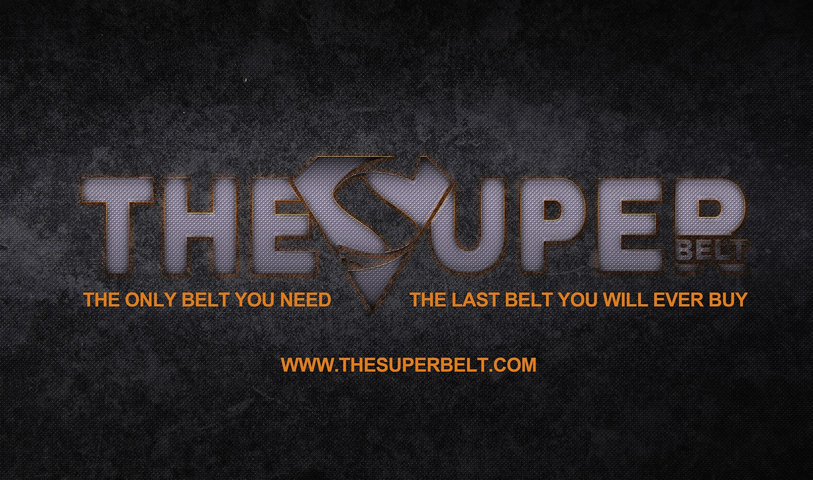 The Super Belt Logo Banner The Only Belt You Need and The Last Belt You'll Ever Buy web